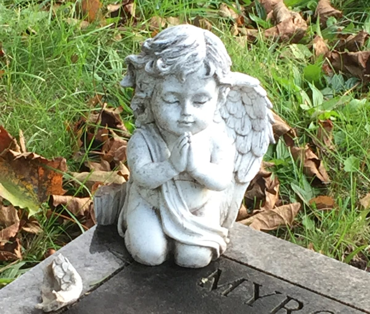Angel with a broken wing